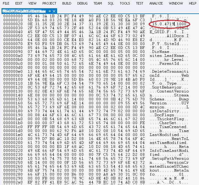 Microsoft.SharePoint.SPException: Schema version of backup 15.0.xxxx.xxxx does not match current schema version15.0.yyyy.yyyy