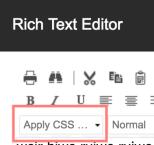 Apply CSS Dropdown Sitecore RTE.png