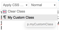 Custom Class in Sitecore RTE Dropdown.png