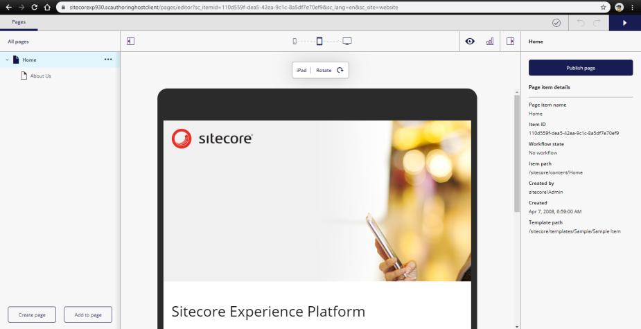 sitecore20horizon